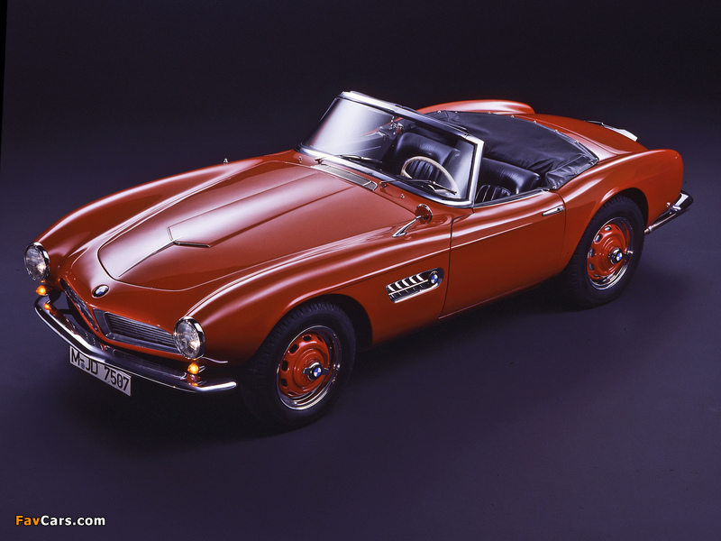 Pictures of BMW 507 (Series I) 1956–57 (800 x 600)