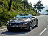 BMW M6 Cabrio (E64) 2007–10 images
