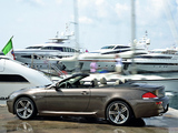 BMW M6 Cabrio (E64) 2007–10 photos