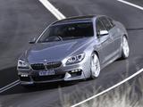 BMW 640i Gran Coupe M Sport Package AU-spec (F06) 2012 images
