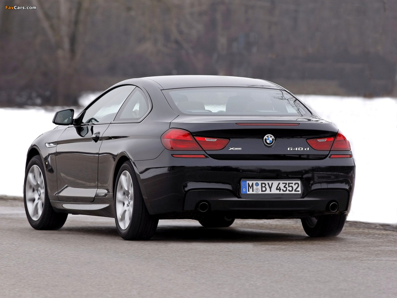 Bmw 640d Xdrive Coupe M Sport Package F13 2012