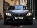 BMW 640d Gran Coupe UK-spec (F06) 2012 wallpapers