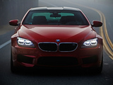 BMW M6 Coupe US-spec (F13) 2012 wallpapers