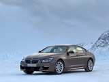BMW 640i xDrive Gran Coupe M Sport Package (F06) 2013 photos