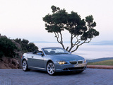 BMW 645Ci Cabrio (E64) 2004–07 photos