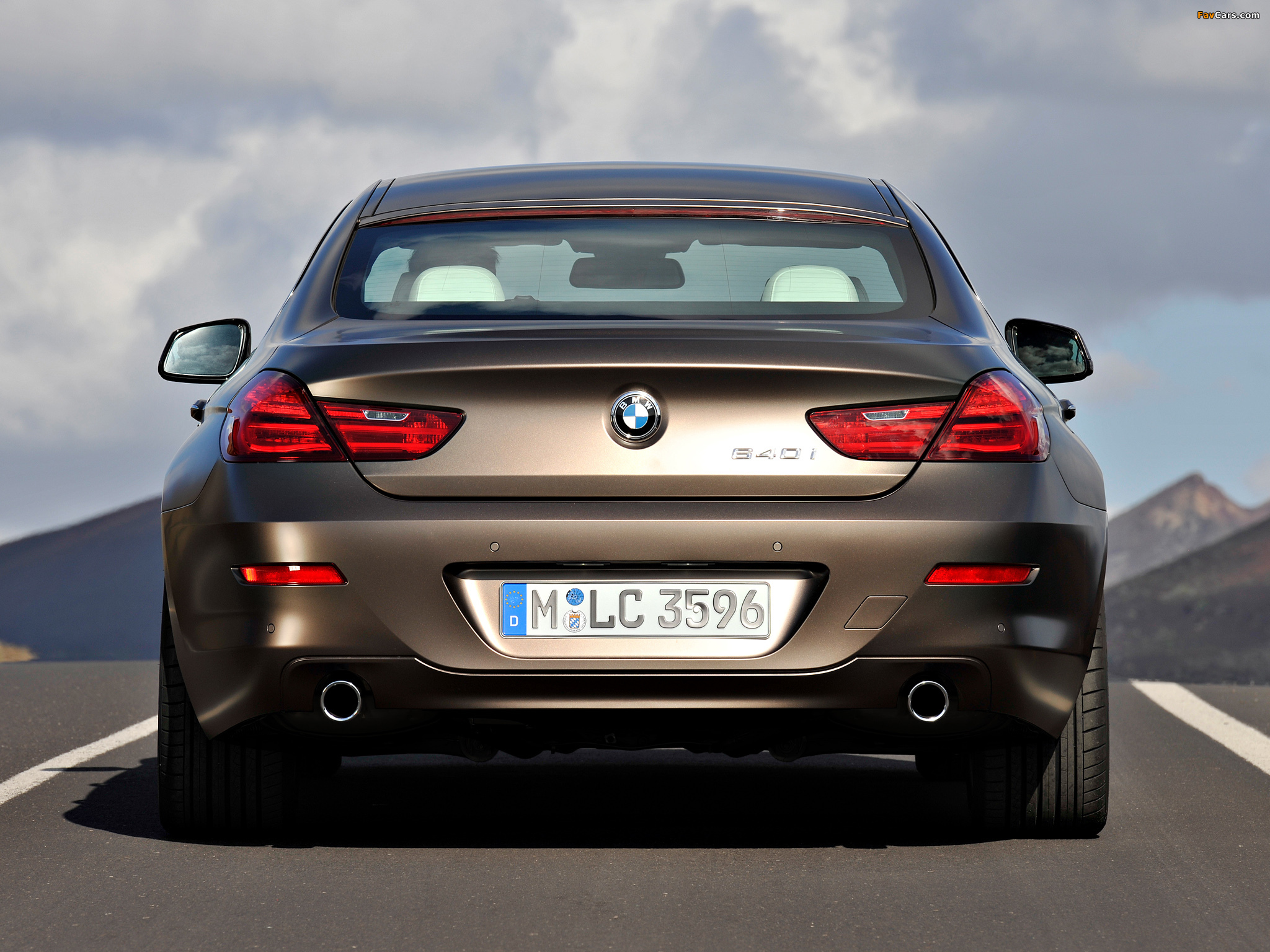 BMW 640i Gran Coupe (F06) 2012 wallpapers (2048x1536)