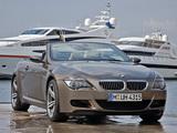 Images of BMW M6 Cabrio (E64) 2007–10