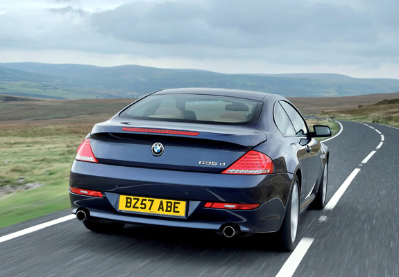 of BMW 635d Coupe UK-spec (E63) 2008–11