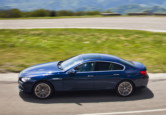 Images of BMW 640d Gran Coupe UK-spec (F06) 2012
