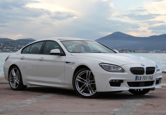 Images of BMW 640d Gran Coupe M Sport Package (F06) 2012