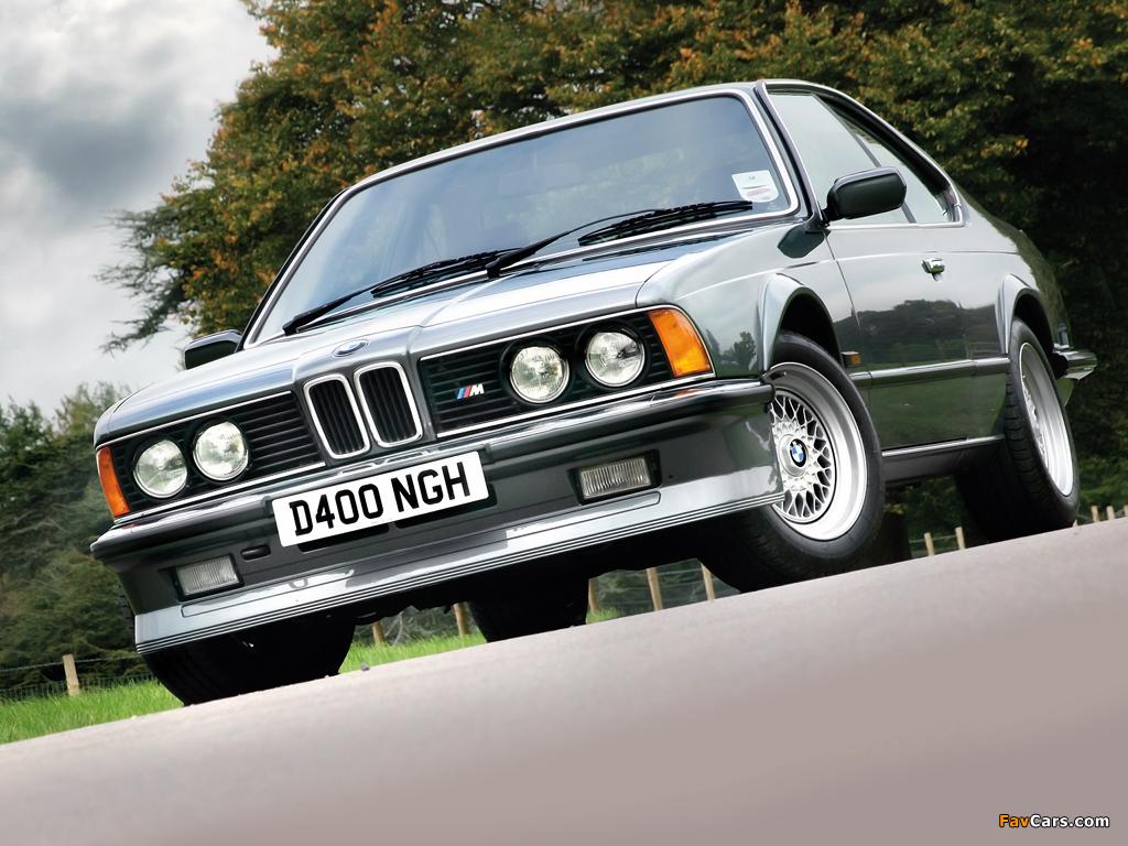 Images Of Bmw M635csi Uk Spec E24 1984 89 1024x768