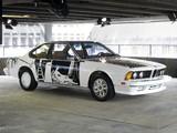 Photos of BMW 635 CSi Art Car by Robert Rauschenberg (E24) 1986