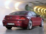 Photos of BMW M6 (E63) 2005–10