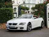 Photos of BMW M6 Cabrio (E64) 2007–10