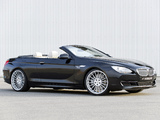 Photos of Hamann BMW 6 Series Cabrio (F12) 2011