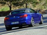 Pictures of BMW M6 Cabrio (F12) 2012