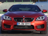 Pictures of BMW M6 Coupe Competition Package (F13) 2013