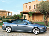 Pictures of BMW 645Ci Cabrio (E64) 2004–07