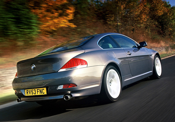 Bmw 630i Coupe Uk Spec E63 200507 Wallpapers