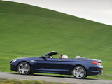 Wallpapers of BMW 650i Cabrio UK-spec (F12) 2011