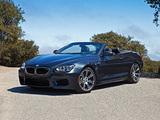 BMW M6 Cabrio US-spec (F12) 2012 wallpapers