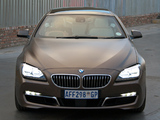 BMW 640d Gran Coupe ZA-spec (F06) 2012 wallpapers