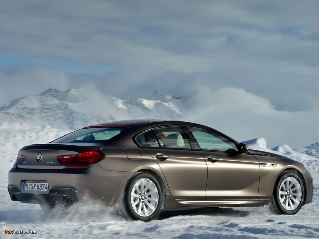 Bmw 640i Xdrive Gran Coupe M Sport Package F06 2013