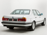 BMW 735i UK-spec (E32) 1986–92 images