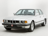 BMW 735i UK-spec (E32) 1986–92 photos