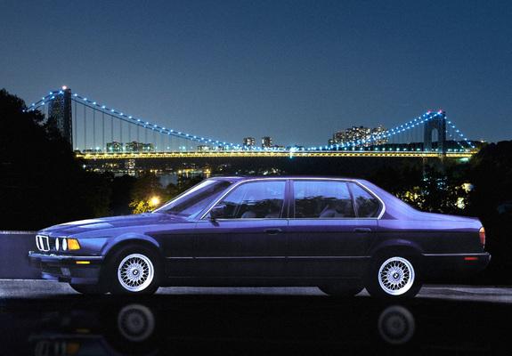 BMW 750iL US-spec (E32) 1987–94 wallpapers
