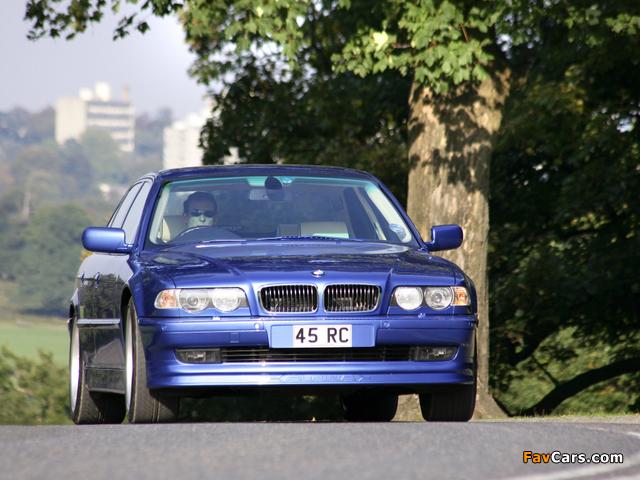 Alpina B12 6.0 (E38) 1999–2001 pictures (640 x 480)