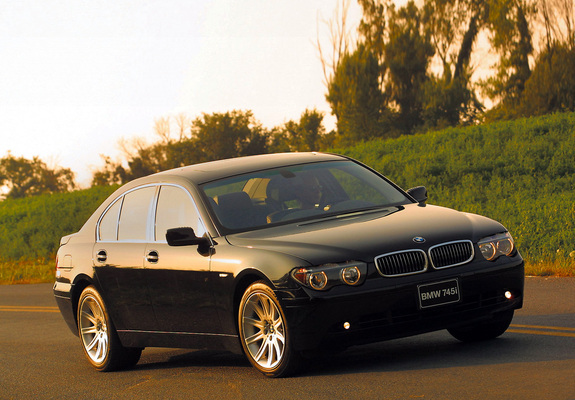 BMW 745i US-spec (E65) 2001-05 pictures