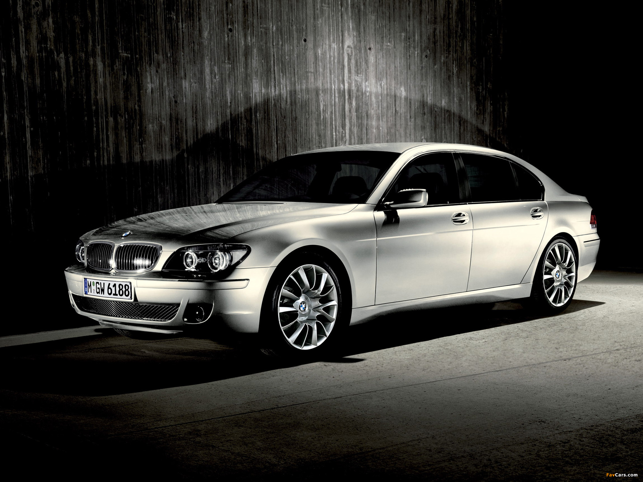 Bmw 7 Series 30th Anniversary Limited Edition E66 2007 Images 2048x1536