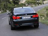 BMW 750Li xDrive (F02) 2008–12 images