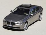 BMW 750i AU-spec (F01) 2008–12 pictures