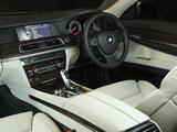 BMW 750i AU-spec (F01) 2008–12 wallpapers