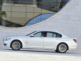 BMW 750d xDrive (F01) 2012 wallpapers