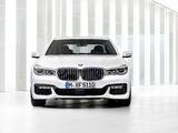 BMW 750Li xDrive M Sport (G12) 2015 images