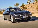 BMW M760Li xDrive V12 Excellence Worldwide (G12) 2016 wallpapers