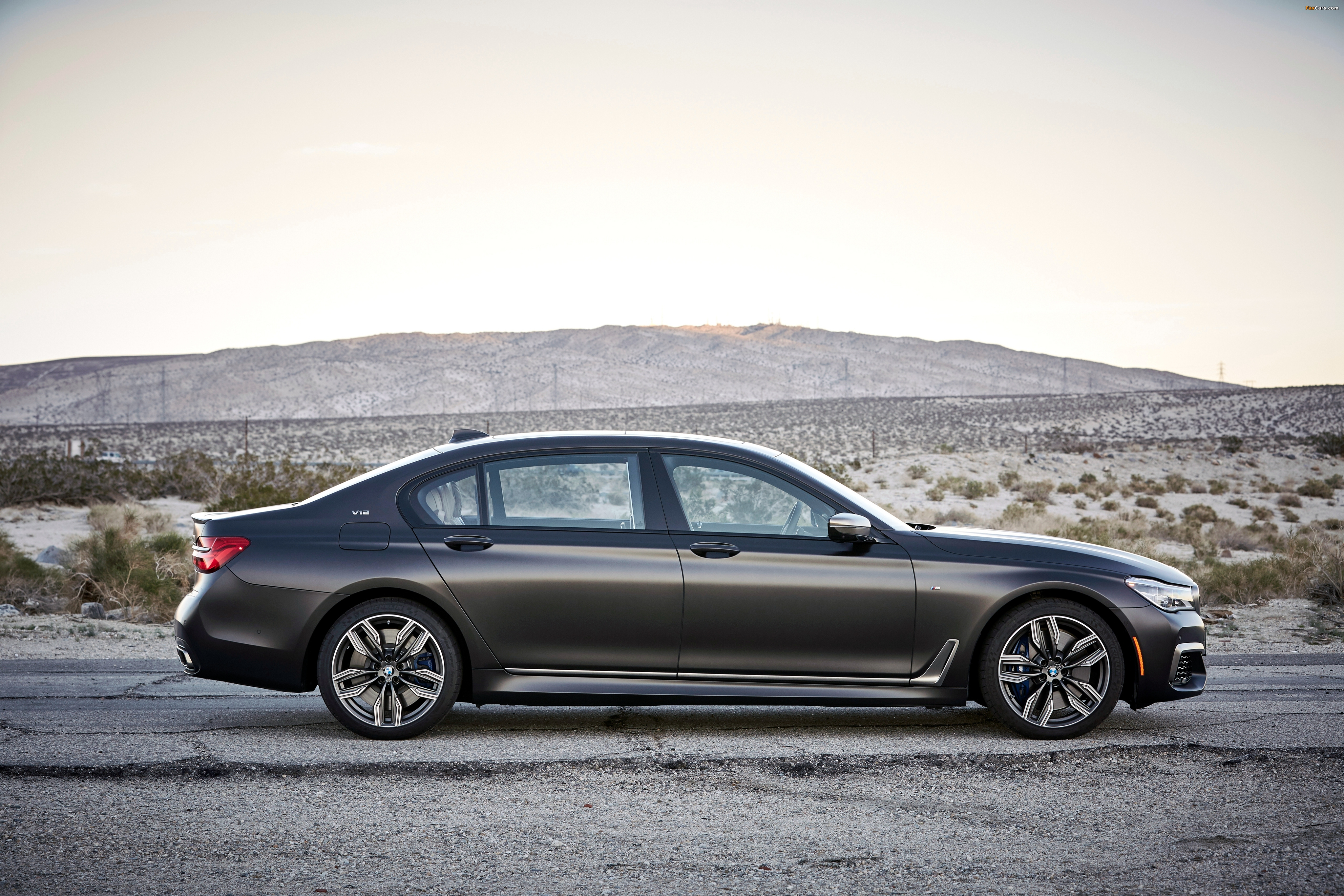 BMW M760i xDrive North America G11 2017 pictures 4096x2731