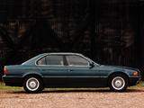 BMW 740i UK-spec (E38) 1994–98 photos