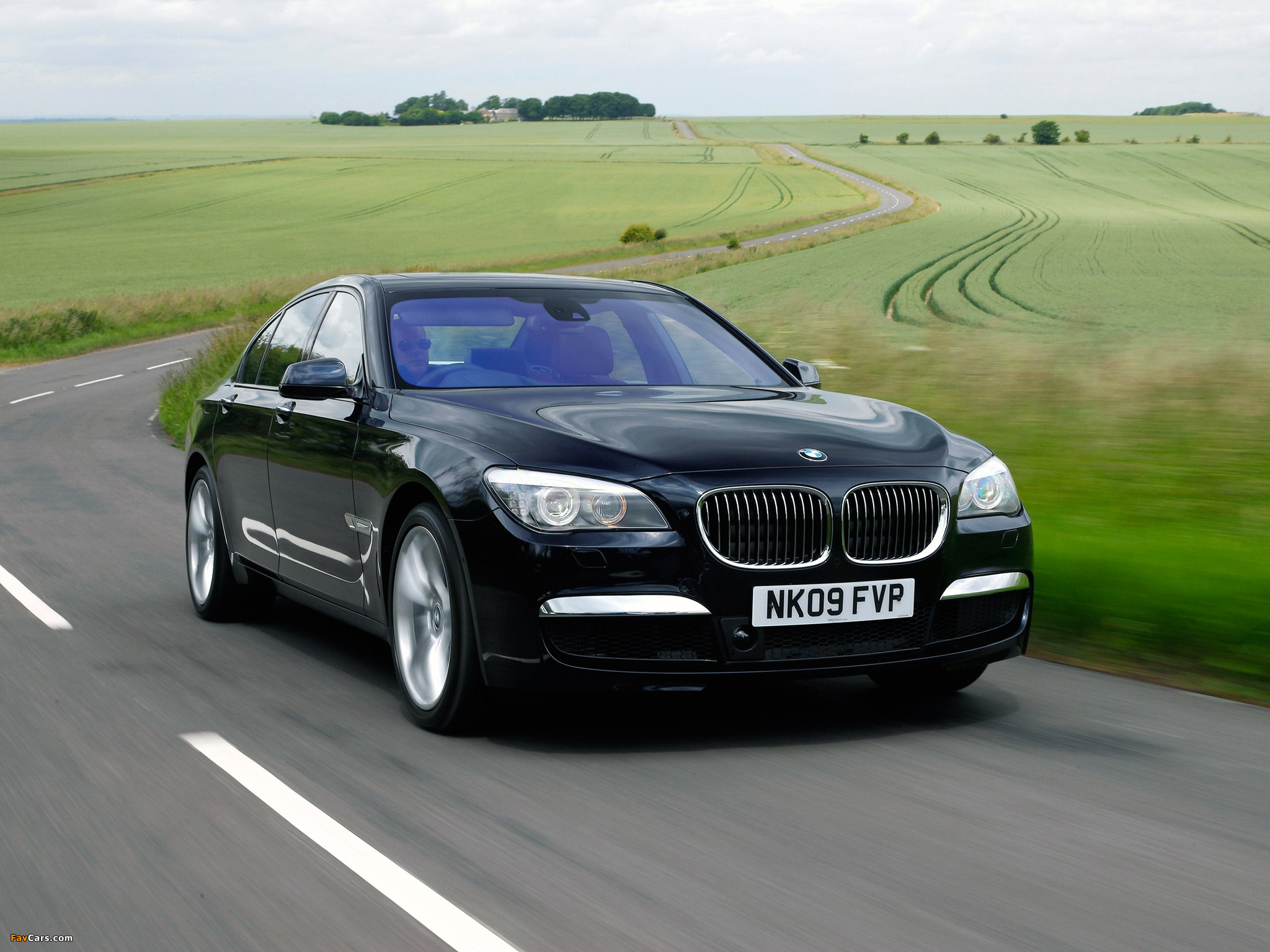 Bmw Sports Car >> BMW 740d M Sports Package UK-spec (F01) 2009 wallpapers (2048x1536)