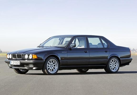 Images of BMW 750iL (E32) 1987–94