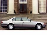 Images of BMW 740i UK-spec (E38) 1994–98