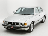Photos of BMW 735i UK-spec (E32) 1986–92