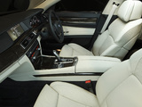 Photos of BMW 750i AU-spec (F01) 2008–12