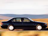 Photos of BMW 728i UK-spec (E38) 1994–98