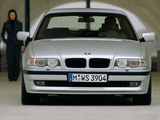 Pictures of BMW 740d (E38) 1999–2001