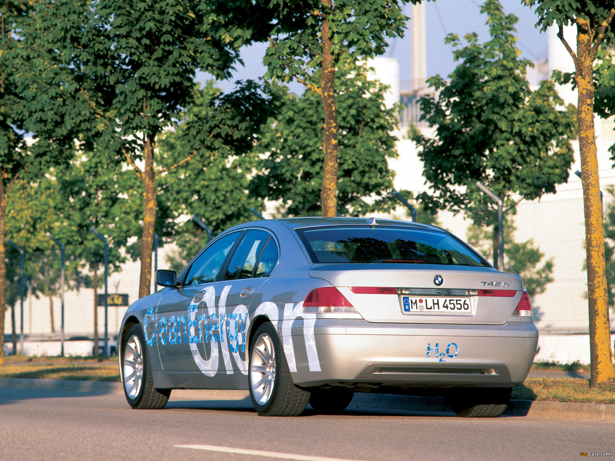 Pictures Of Bmw 745h Cleanenergy Concept E65 2002