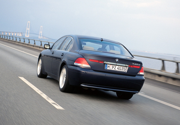 Pictures of BMW 740d (E65) 2002–05